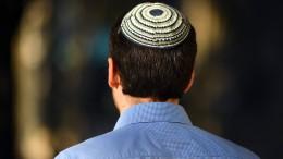 Gewalt gegen Juden deutlich angestiegen