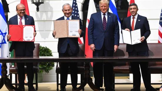 Vereinigte Emirate und Bahrain besiegeln Abkommen mit Israel