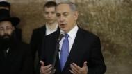 Netanjahu rückt vom klaren Nein zur Zwei-Staaten-Lösung ab