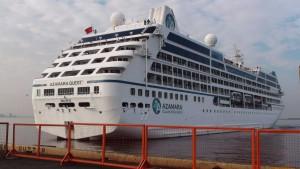 Brand auf Kreuzfahrtschiff im Indischen Ozean