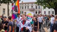 Protest gegen AfD und Rechtsextremismus: Linke Gruppen Mitte August in Potsdam