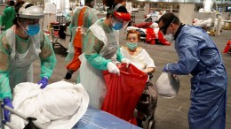 Krankenschwestern fühlen sich wie Kamikaze-Kämpfer