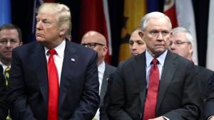 Jeff Sessions wehrt sich gegen Trump