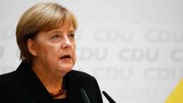 Bundeskanzlerin Merkel trauert um Heiner Geißler