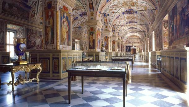 Den Vergilius Vaticanus lieh schon Raffael aus