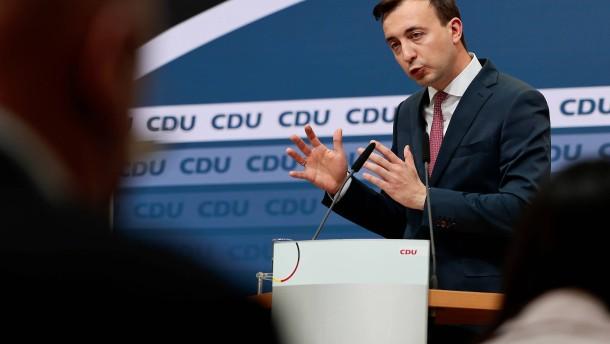 Ziemiak: Parteitag wird gesamten CDU-Vorstand neu wählen