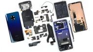 Alle Einzelteile auf einen Blick: Das Mate 20 Pro von Huawei.