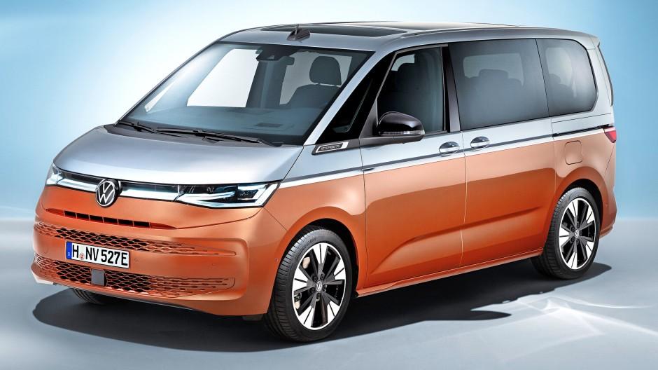 Mehr Design, weniger Vielfalt: Neuer VW Multivan T7
