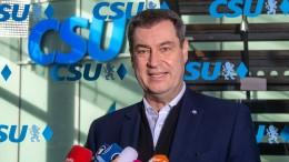 Söder: Nicht bei Amtszeit von Merkel tricksen
