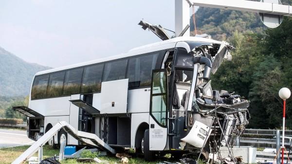 Busunglücke Aktuell News Der Faz Zu Busunfällen