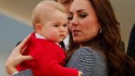 """Adipositasexperte gibt Entwarnung: Beim propperen Prinz George gibt es bald eine """"Phase der ersten Streckung"""""""