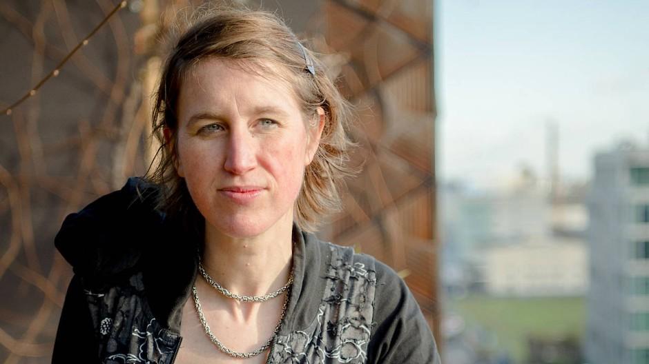 Nach der Probe: Annesley Black auf der Dachterrasse der Marmion Bar im Hotel Lindley
