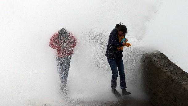 Elf Tote durch Unwetter in Südeuropa