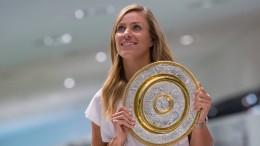 """""""Langsam realisiere ich, dass ich Wimbledon-Siegerin bin"""""""