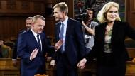 Rasmussen strebt Minderheitsregierung an