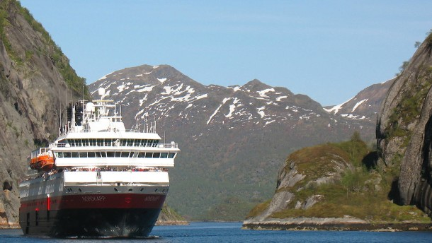 Norwegische Fähre in Seenot – Motor ausgefallen