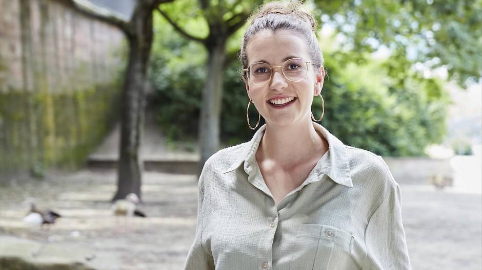 Will ihrer Generation eine Stimme geben: Die 27 Jahre alte Deborah Düring kandidiert für den Bundestag.