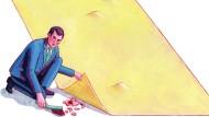 Den Fehler schnell unter den Teppich gekehrt? Fehlerkultur muss früh gelehrt werden, um das zu vermeiden.