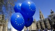 Dabei oder nicht dabei? Noch ist ungewiss, ob Großbritannien an der Europawahl teilnimmt.