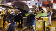 Wird in Hongkong protestiert, wirkt sich das auch auf den Handel an der Börse in Paris aus.