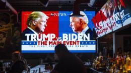 Biden und Trump streiten um die bessere Wirtschaftspolitik