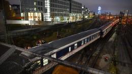 Zugwaggons entgleisen in München