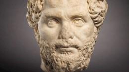 Gestohlener Kopf von römischer Kaiserstatue bei Auktion aufgetaucht