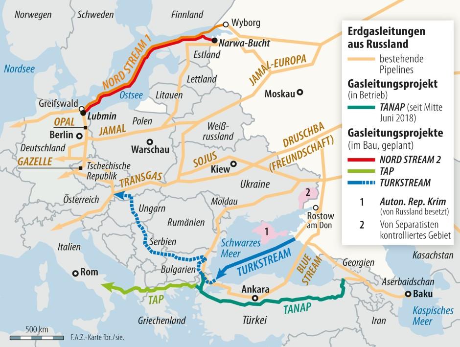 Karte Ostdeutschland.Bilderstrecke Zu Nord Stream 2 Ostdeutschland Bereit Für