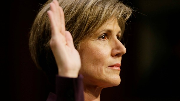 Ehemalige kommissarische Justizministerin warnte vor Flynn