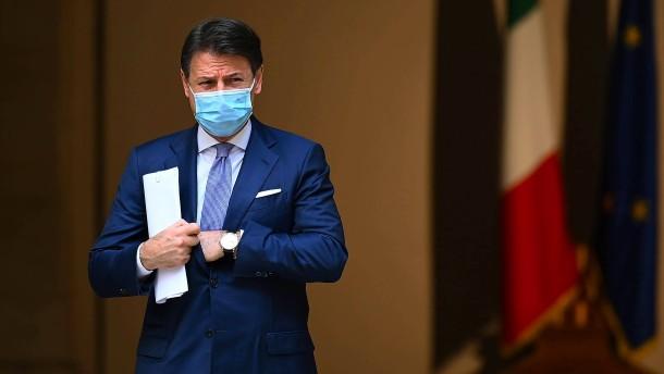 Ministerpräsident Conte reicht Rücktritt ein