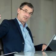 Bernd Leukert, Vorstand für Digitalisierung, Daten und Innovation bei der Deutschen Bank
