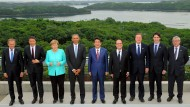 G7-Staaten warnen die Briten vor einem Brexit