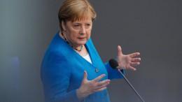 Was sagt Merkel in ihrer letzten Regierunsgerklärunng?