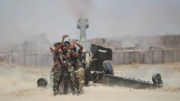 Irakische Truppen dringen in Falludscha ein