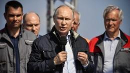 Putin eröffnet umstrittene Krim-Brücke