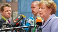 Merkel warnt vor erheblichen Spannungen in der EU