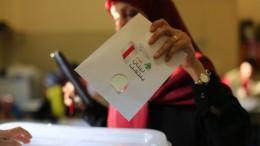 Niedrige Wahlbeteiligung im Libanon