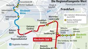 Frankfurt fordert von Nachbarn den Ausbau des Schienennetzes