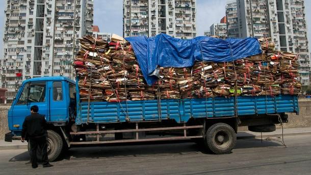 Warum China kein deutsches Altpapier mehr kaufen will