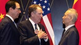 Peking dämpft Erwartungen an Handelsgespräche