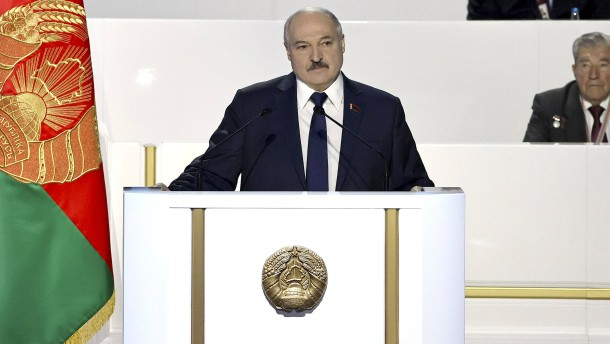 Lukaschenkas Kampf gegen die inneren Feinde