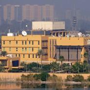 Die amerikanische Botschaft in Bagdad am 7. Januar 2020.