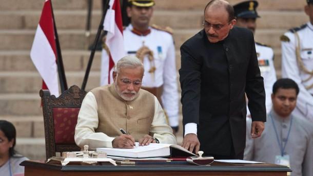 Modi mistet Indiens Amtsstuben aus