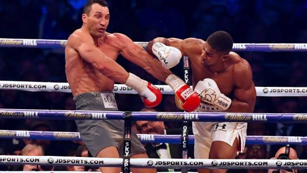 Klitschko verliert WM-Kampf in Wembley
