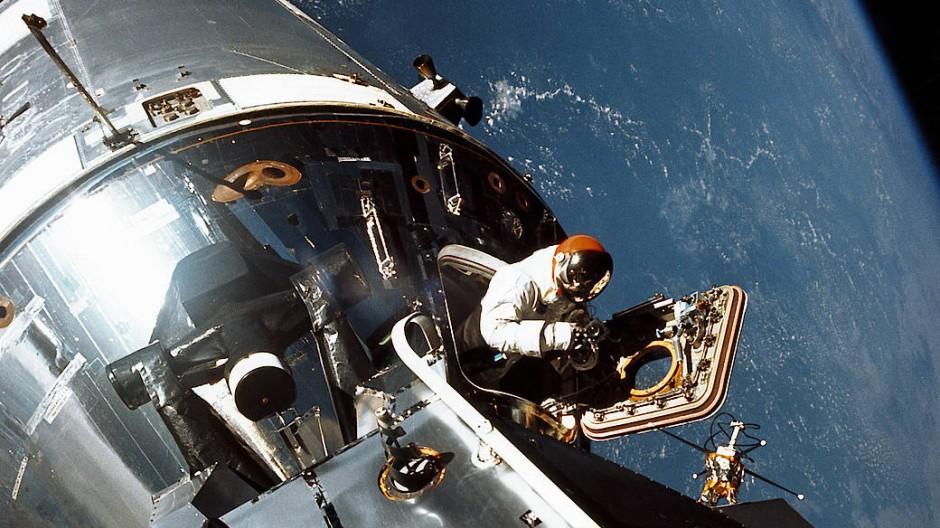 """Wegweisend: Apollo 9 war für die Nasa 1969 """"die bisher vielleicht anspruchsvollste bemannte Mission""""."""