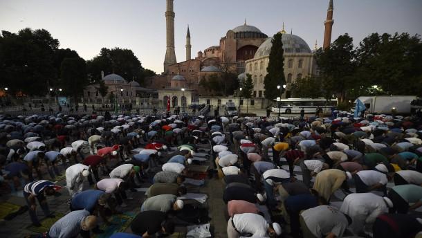 Eine Moschee namens Hagia Sophia