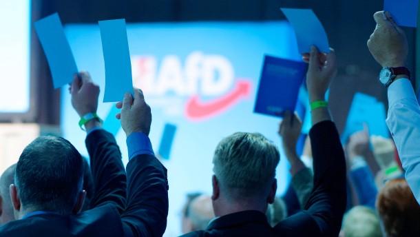 Die AfD dreht der CDU eine Nase