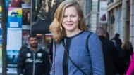 """Saskia Bruysten, """"Co-Gründer und CEO von Yunus Social Business"""". Die Zentrale hat sie in Frankfurt, wo dieses Foto entstand."""