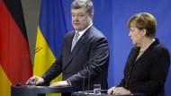 Poroschenko: Ohne Waffenruhe sind Reformen in Ukraine schwierig