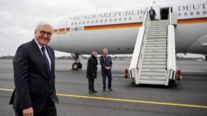 Defekter Flieger verzögert Steinmeiers Rückflug aus Äthiopien